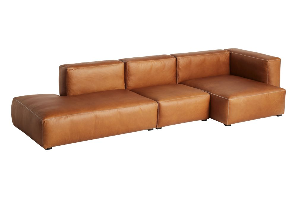 Fabric Group 1, Left,Hay,Sofas,armrest,brown,comfort,couch,furniture,leather,orange,outdoor sofa,sofa bed,studio couch,tan