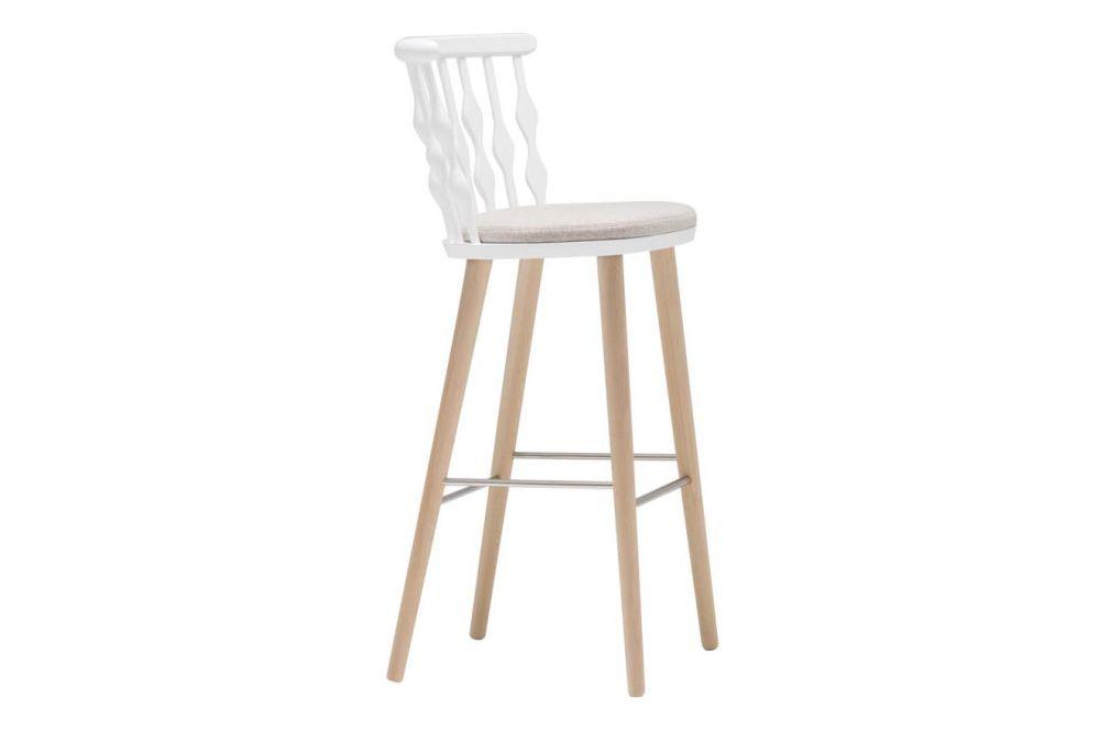 Wood finish Beech, Wood finish Beech, Andreu World Main Line Flax,Andreu World,Workplace Stools,bar stool,beige,chair,furniture,stool,white