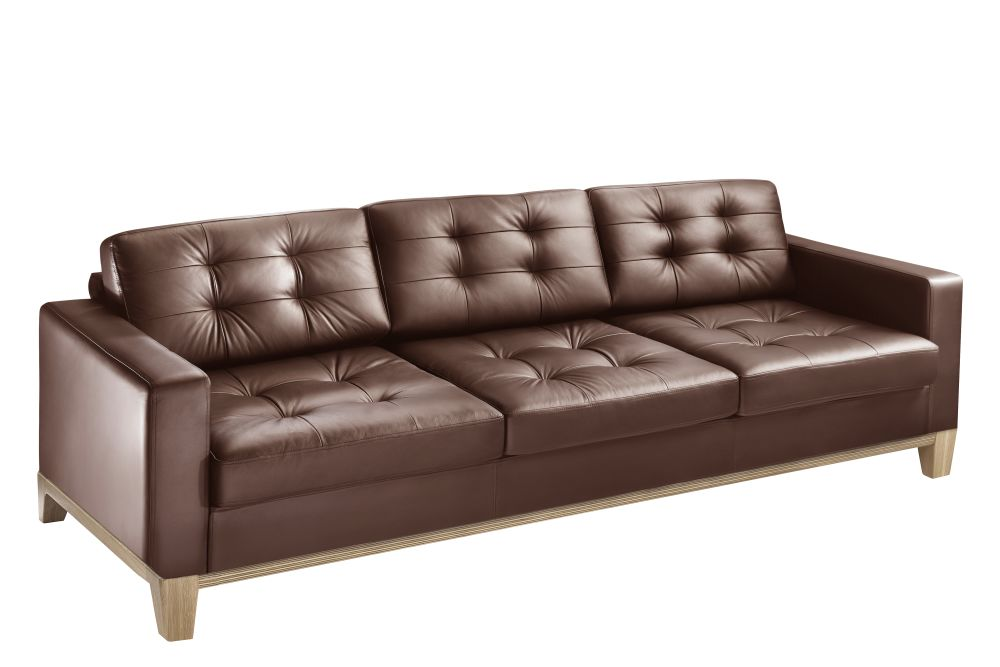 Pricegrp. UltraleatherPro, Without, Clear Lacquered,Connection,Breakout Sofas,beige,brown,couch,furniture,leather,living room,loveseat,room,sofa bed,studio couch