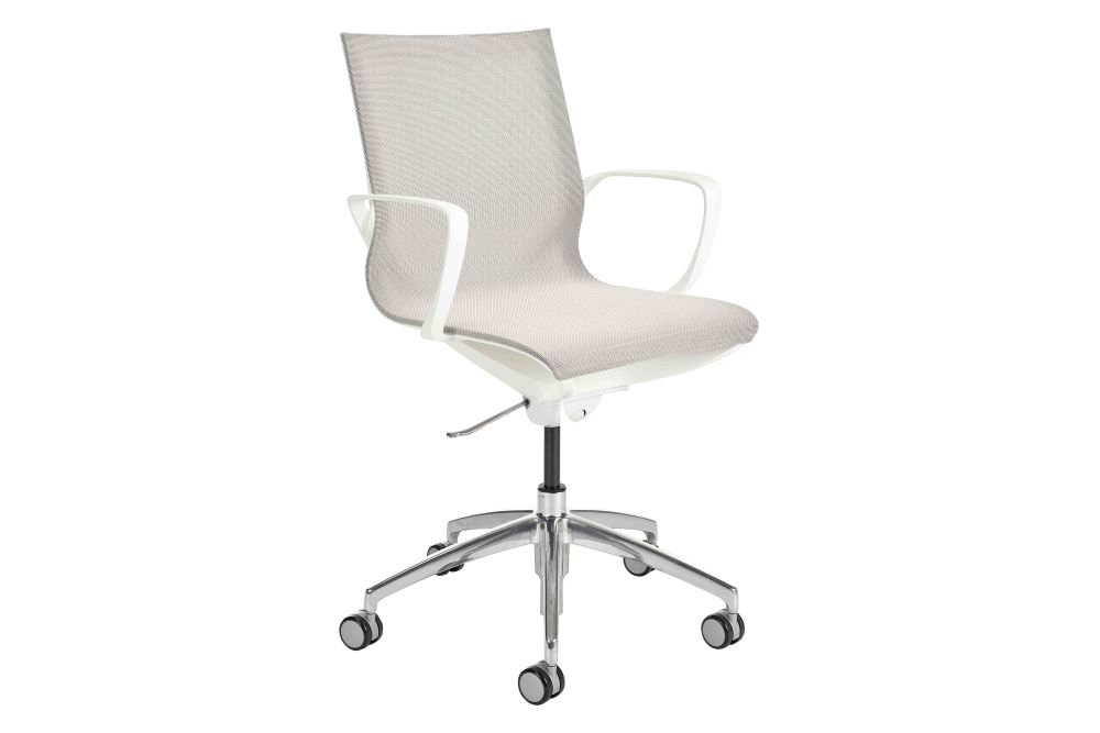 Black Mesh,Connection,Task Chairs,chair,furniture,line,material property,office chair,product,white