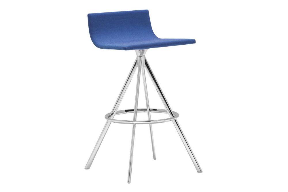 Andreu World Main Line Flax, Polished Chrome Steel,Andreu World,Stools,bar stool,chair,furniture