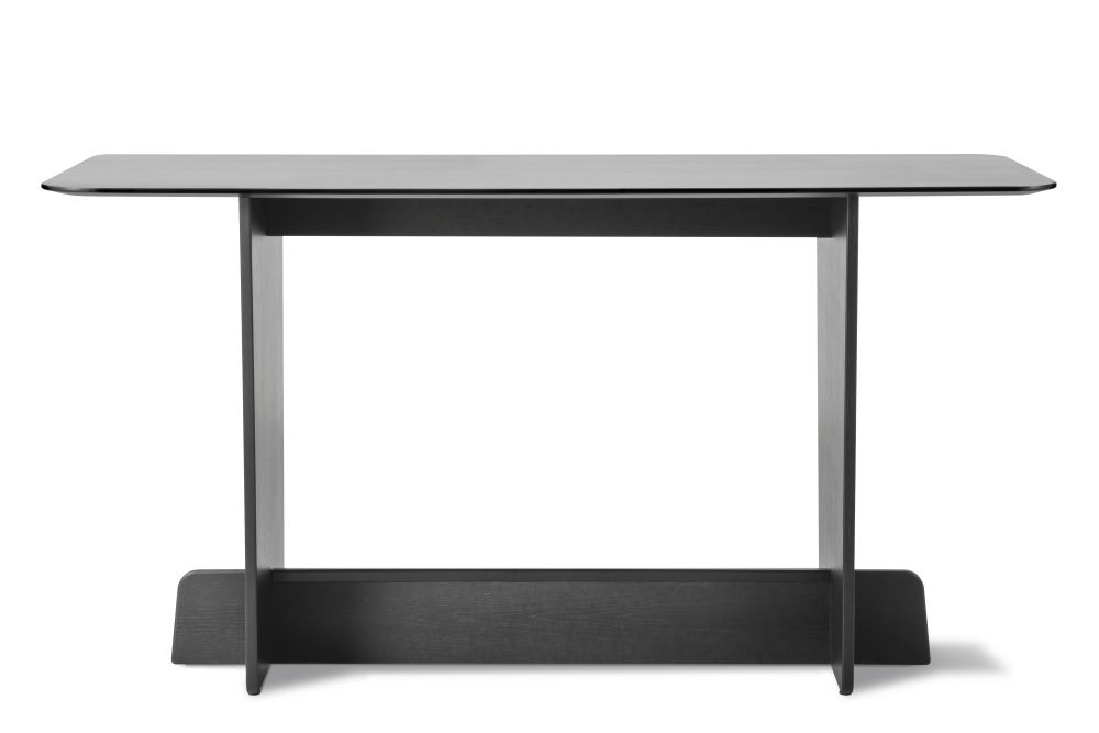 Tableau Bar Table Black laquered 105,Fredericia,High Tables,desk,end table,furniture,outdoor table,rectangle,table