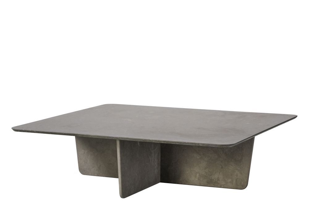 Tableau Coffee Table, Dark Atlantico Limestone, Rectangular Top,Fredericia,Coffee & Side Tables,coffee table,desk,furniture,outdoor table,table