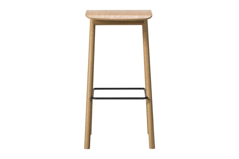 YKSI Stool Oak lacquered 76,Fredericia,Stools,bar stool,furniture,stool