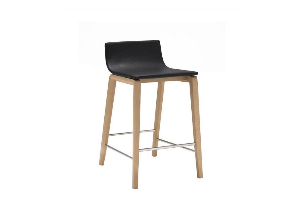Andreu World Main Line Flax, Wood finish Beech,Andreu World,Stools,bar stool,chair,furniture,stool