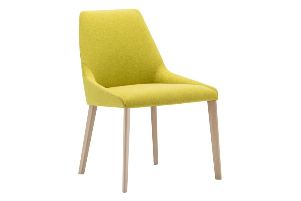 Wood finish Beech, Andreu World Main Line Flax,Andreu World,Breakout & Cafe Chairs,chair,furniture,yellow