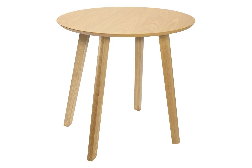 White, Oak, 90d x 75h cm,Connection,Cafe Tables,coffee table,end table,furniture,outdoor furniture,outdoor table,stool,table
