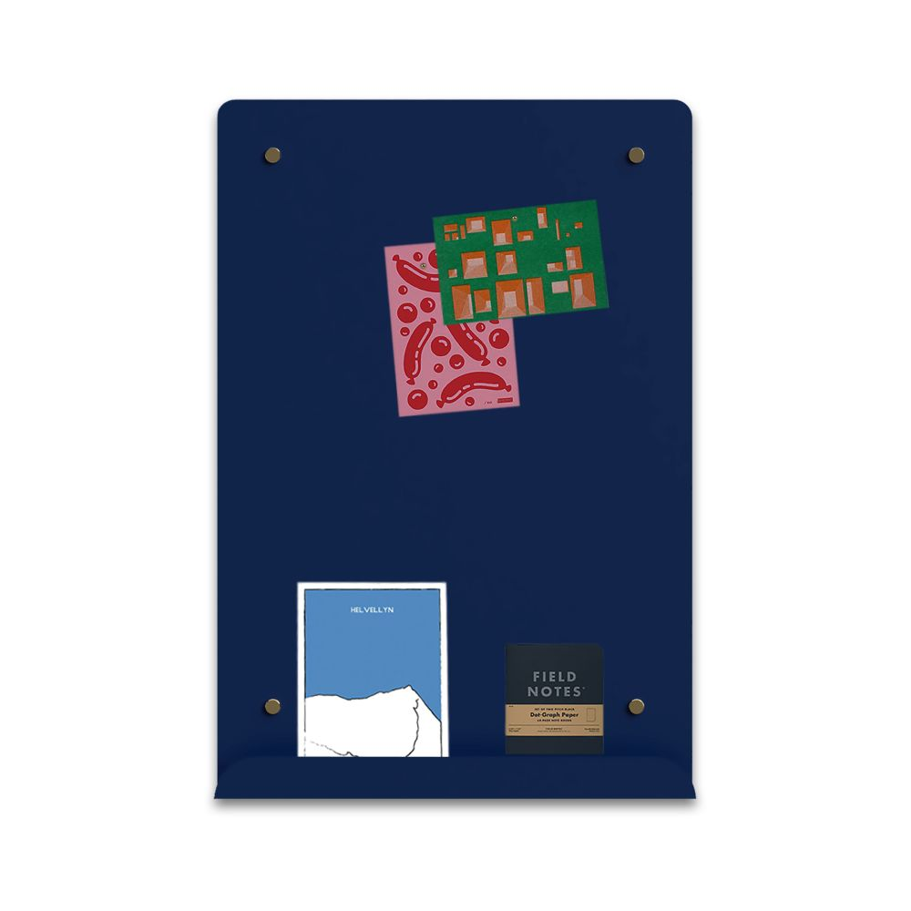 Myosotis Portrait Notice Board by Psalt Design