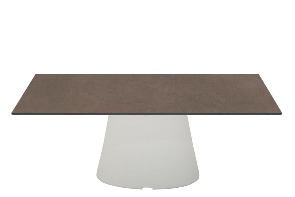 80 x 80, Polyethylene finish, Stone Finish Earth Brown,Andreu World,Coffee & Side Tables,coffee table,furniture,outdoor table,rectangle,table