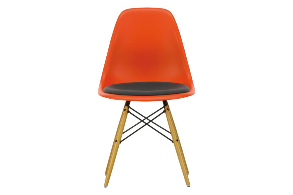 DSW Side Chair - Seat Upholstered by Vitra