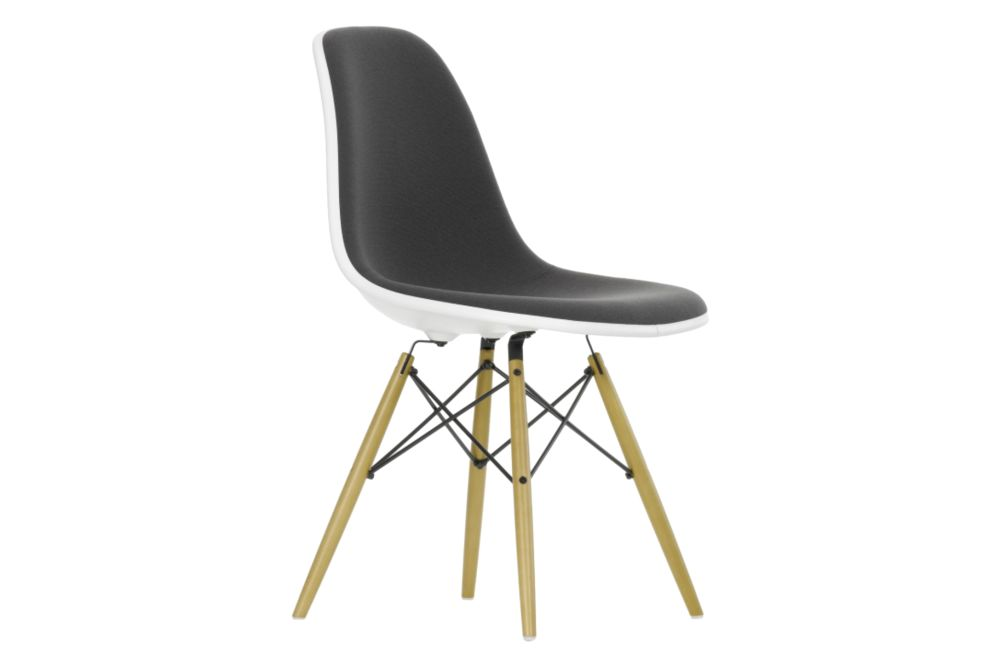 DSW Side Chair - Front Upholstered by Vitra
