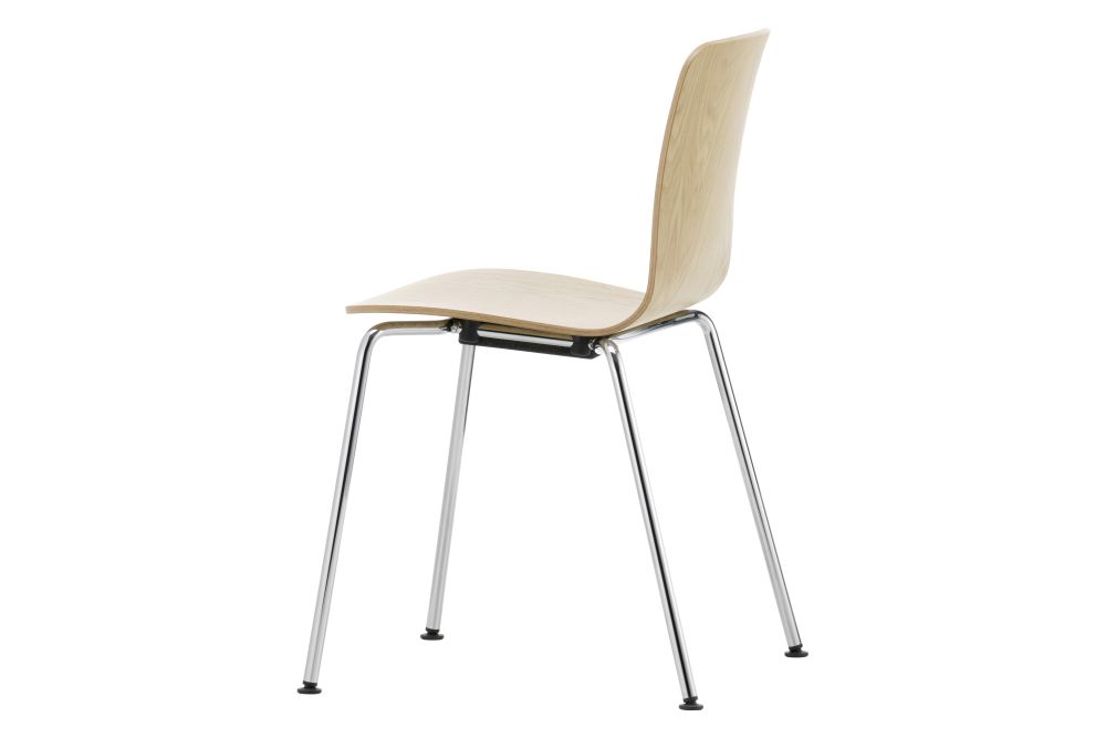 HAL Ply Tube Stackable Dining Chair by Vitra