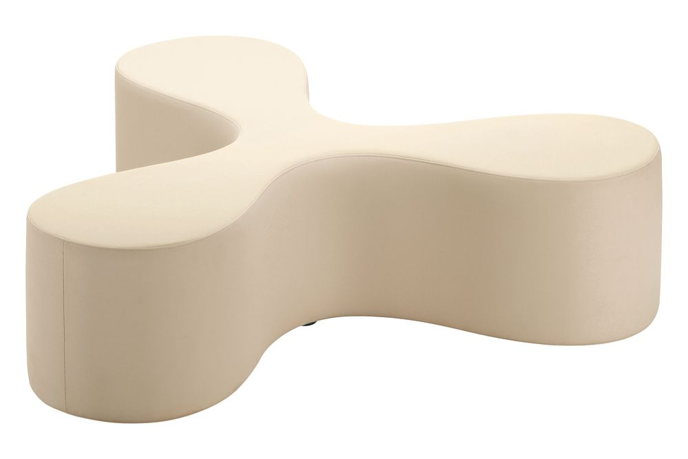 Micropore 01 champagne white,Vitra,Benches,furniture,material property,product