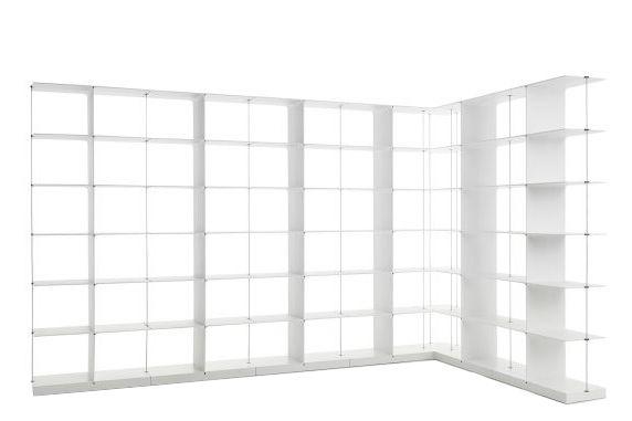 6x6 L Shape, White,Engelbrechts,Bookcases & Shelves,furniture,room divider