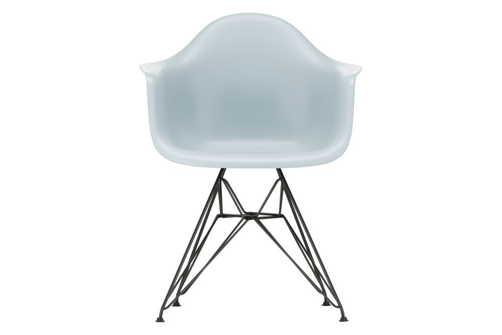 01 Chrome, 04 White, 04 Glides basic dark for carpet,Vitra,Armchairs,chair,furniture,table