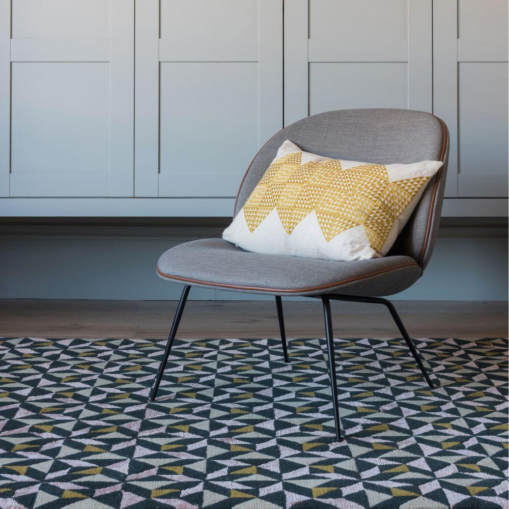 Geotile Cushion Chartreuse