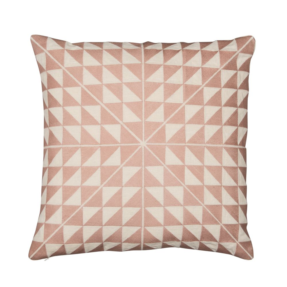 Ash Grey & Natural Linen,Niki Jones,Cushions,beige,brown,cushion,design,furniture,linens,pattern,peach,pillow,pink,textile,throw pillow