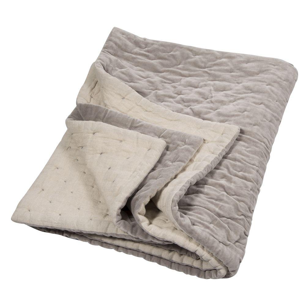 Velvet Linen Bedspread by Niki Jones