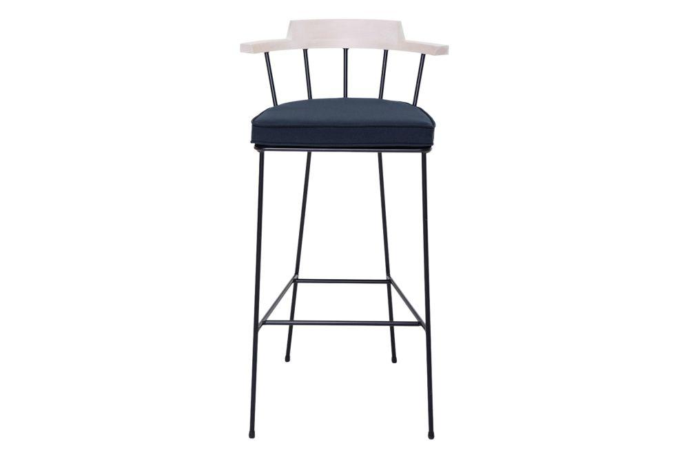 Pricegrp. Fame, RAL 1013, Haya White 93, 96cm,Verges,Stools,bar stool,furniture,stool