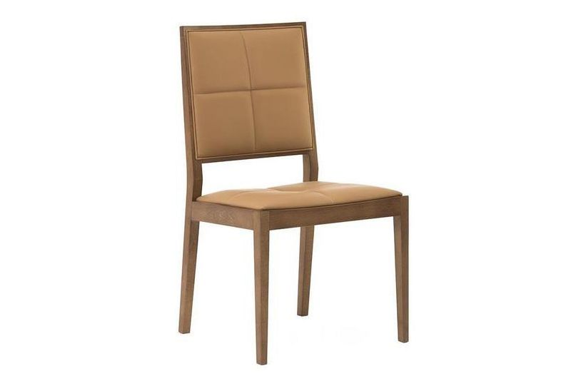 Manila High Backrest Chair with Upholstered Seat and Backrest by Andreu World