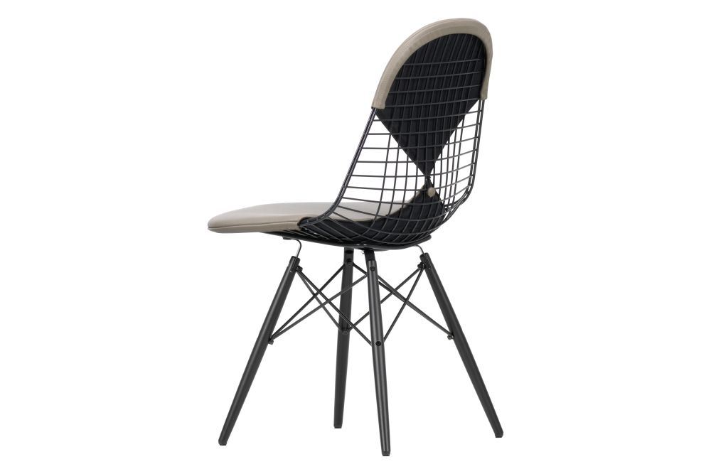 DKW 2 Wire Dining Chair by Vitra