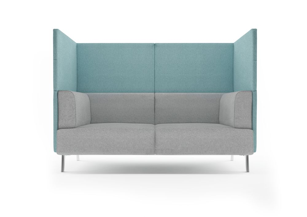 Tryst High Back 2 Seater Sofa by Connection