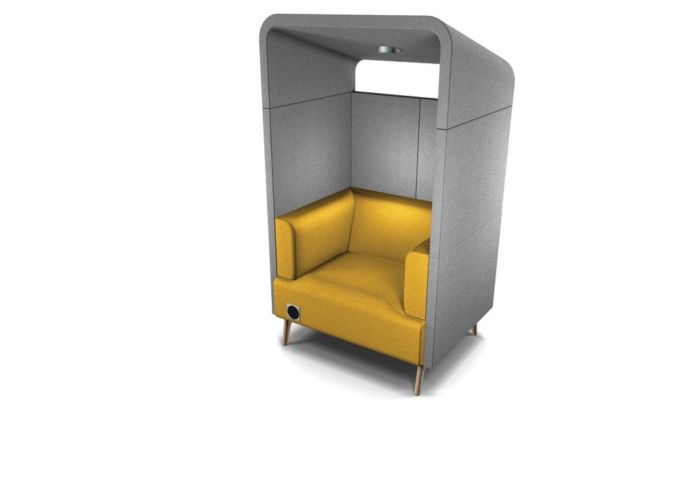 Pricegrp. 3, Polished Aluminum,Connection,Acoustic Furniture,product,yellow