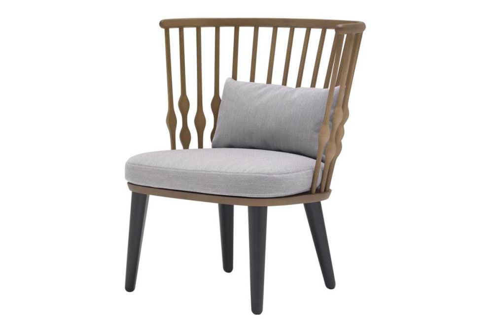 Nub Wood Base Lounge Chair by Andreu World