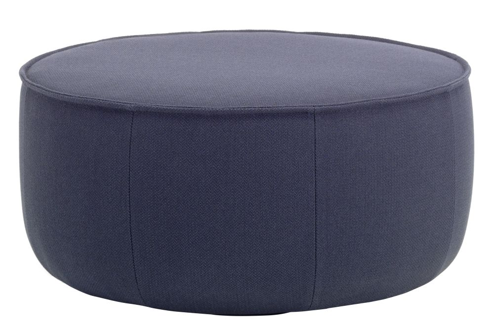 Dumet 11 yellow melange,Vitra,Footstools,black,furniture,ottoman,pouf,stool