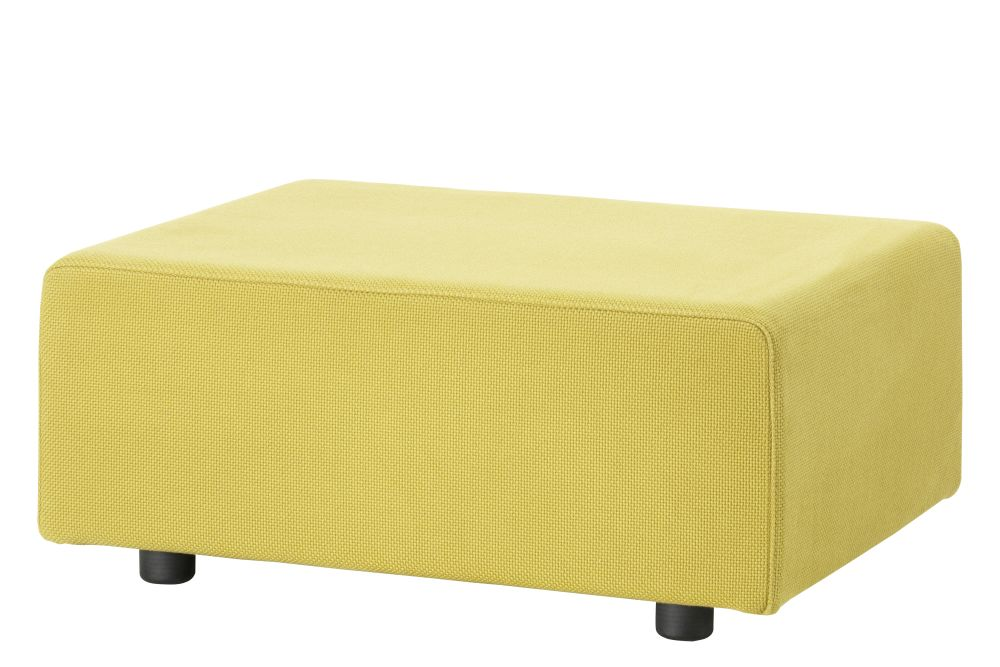 Red,Vitra,Footstools,furniture,ottoman,rectangle,yellow