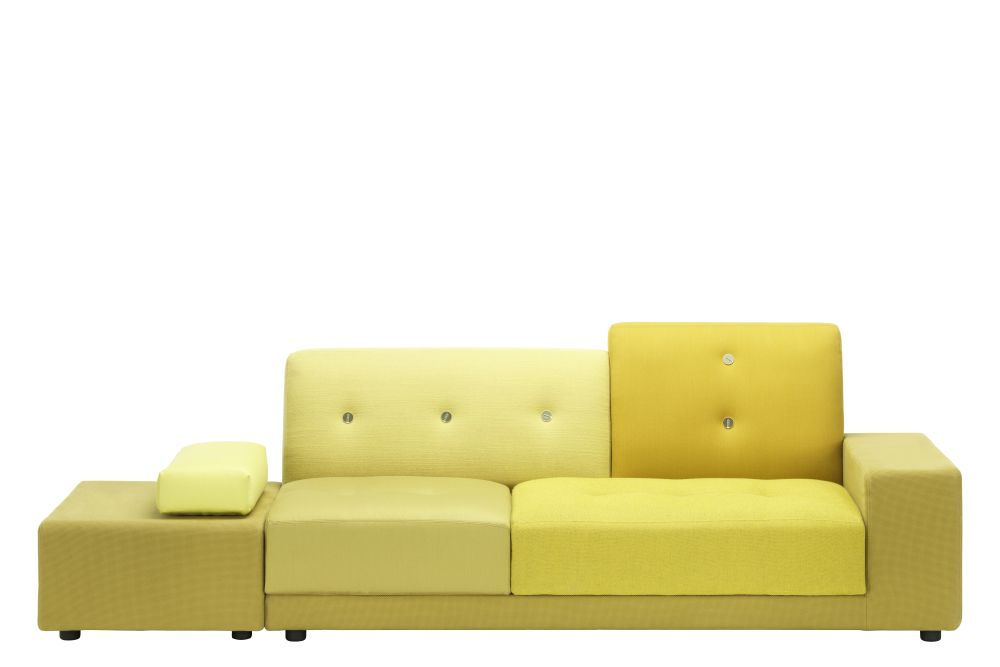 Green, 01/R Armrest right/sitting left,Vitra,Sofas,beige,couch,furniture,futon,leather,sofa bed,yellow