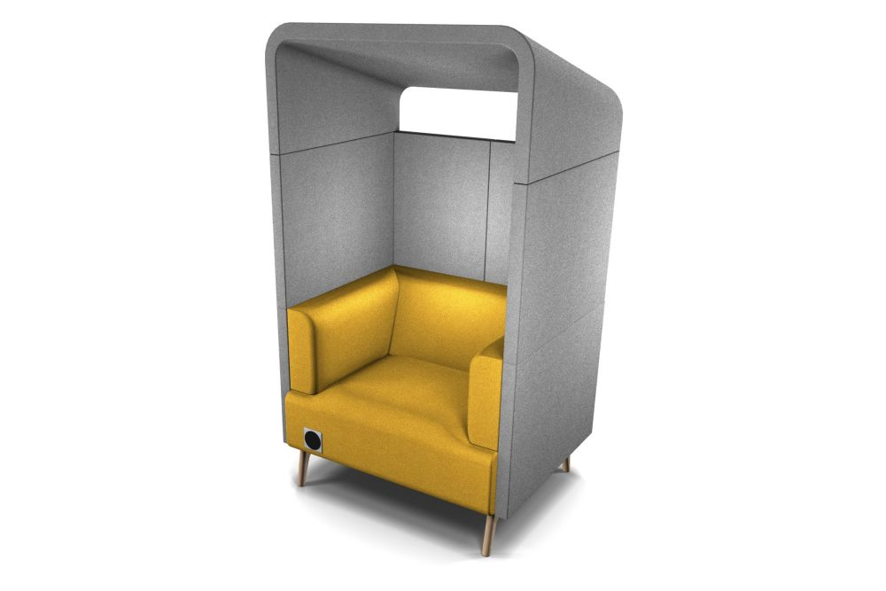 tryst single armchair booth with canopy connection roger webb associates clippings