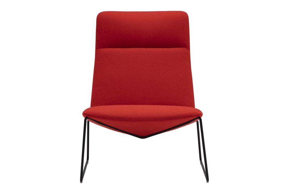 Capri Sled Base Lounge Chair by Andreu World