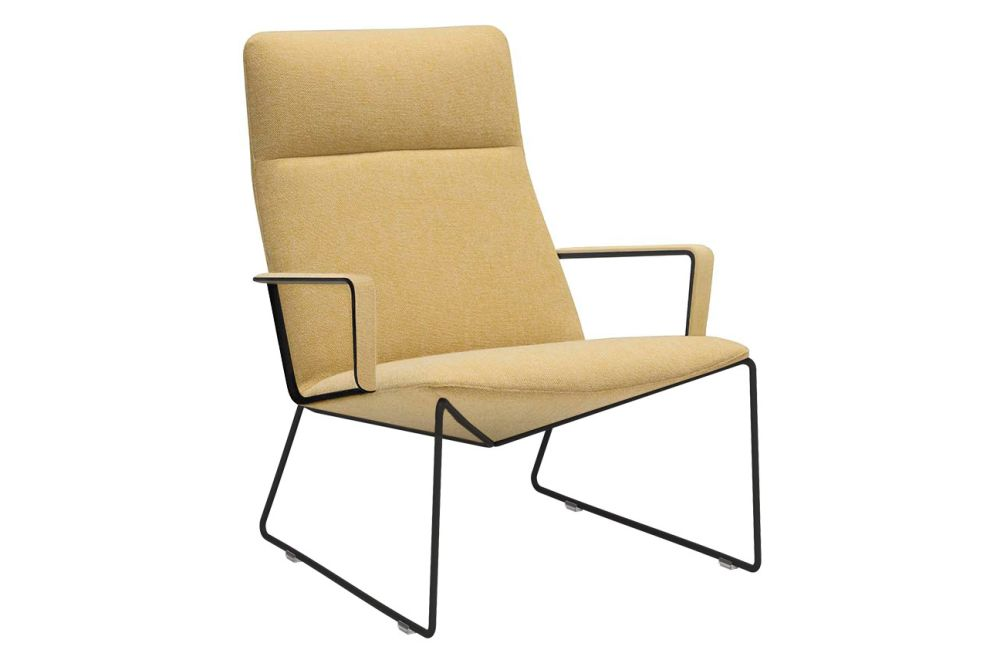 Polished Chrome Steel, Andreu World Main Line Flax,Andreu World,Breakout Lounge & Armchairs,armrest,chair,furniture