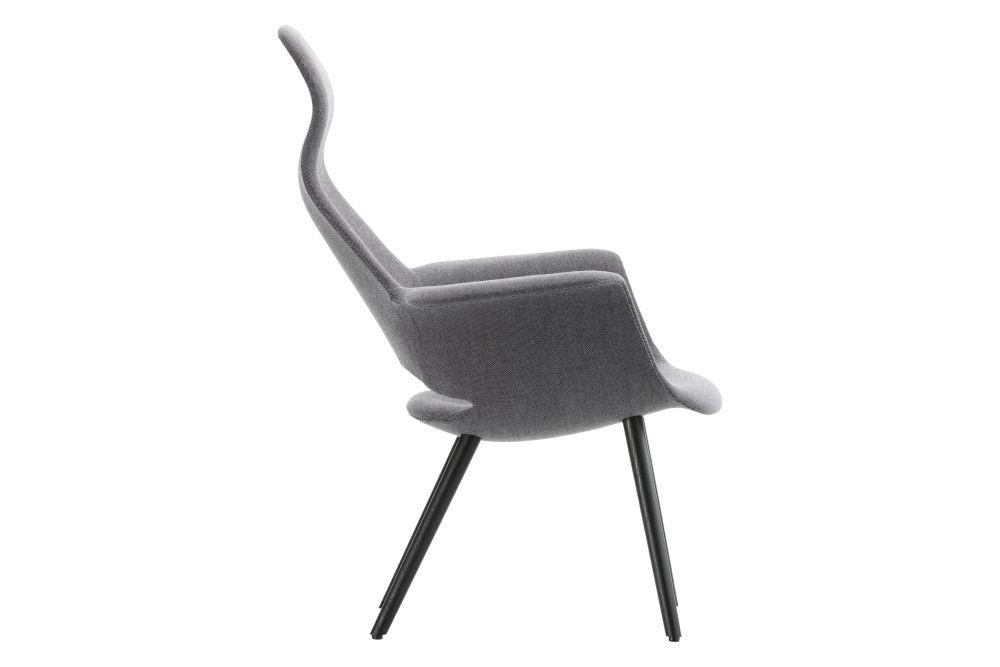 Organic Highback Armchair by Vitra