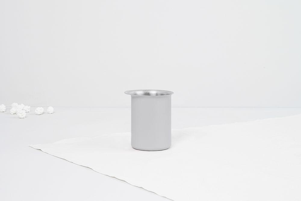 Ayasa Grey Pourer,Tiipoi,Small Storage & Organizers,cylinder,table,white