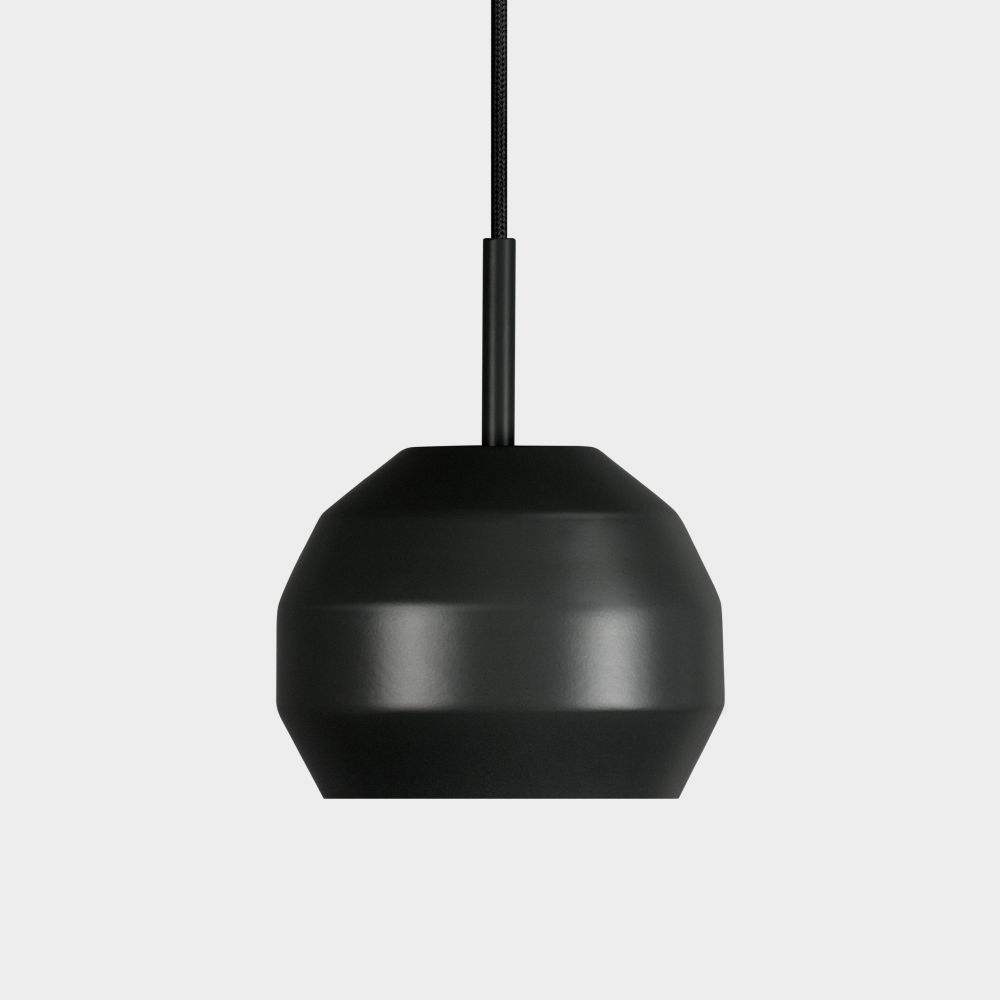 Mini Pitch Pendant - Grey,Vitamin,Pendant Lights,black,ceiling,ceiling fixture,lamp,lampshade,light,light fixture,lighting,lighting accessory,product