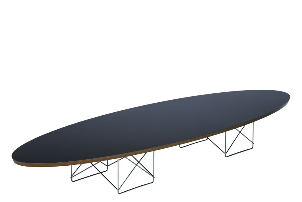 HPL black, Base chromed,Vitra,Coffee & Side Tables,furniture,ironing board,table