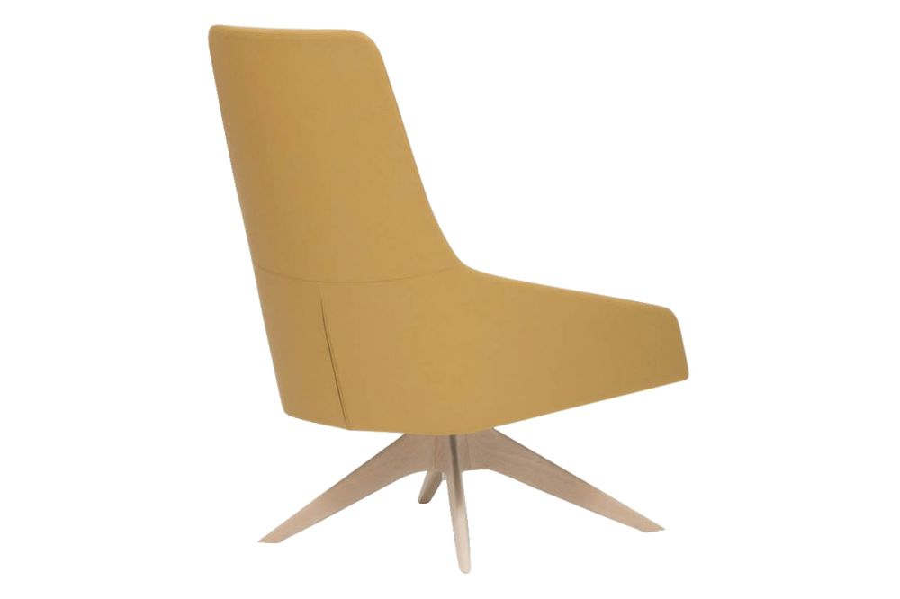 Wood finish Beech, Andreu World Main Line Flax,Andreu World,Breakout Lounge & Armchairs,beige,chair,furniture
