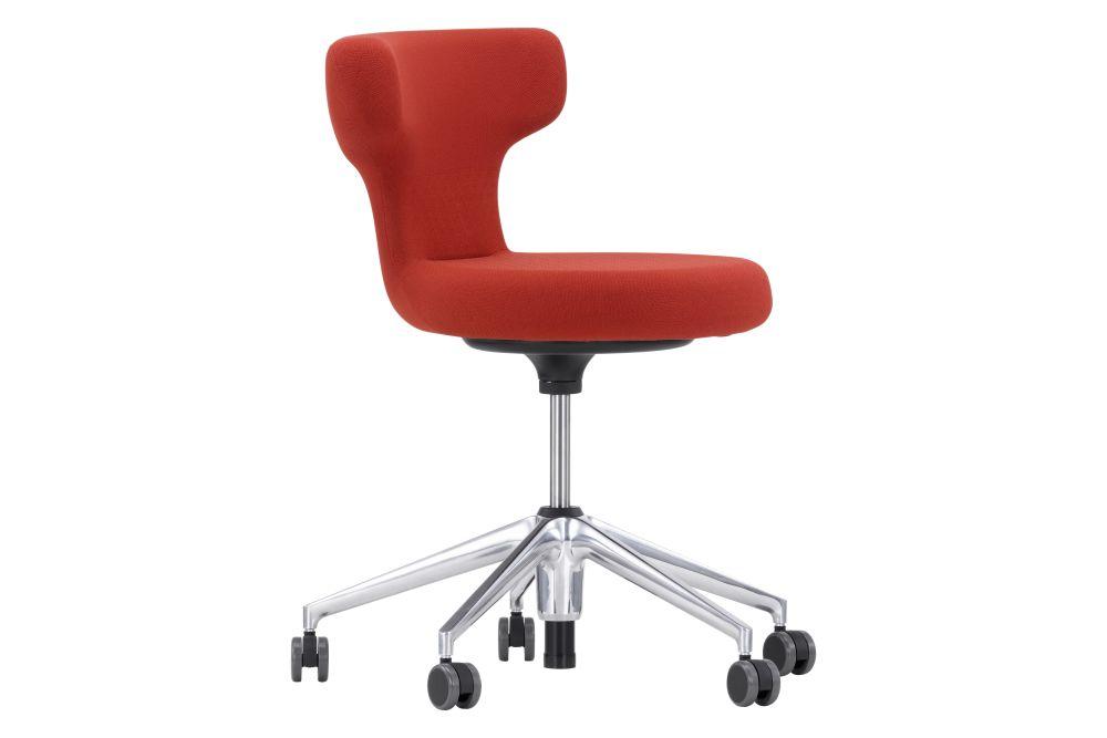 base plastic basic dark, SingleKnit 01 light grey, 02 castors hard braked for carpet,Vitra,Office Chairs,chair,furniture,line,material property,office chair,plastic