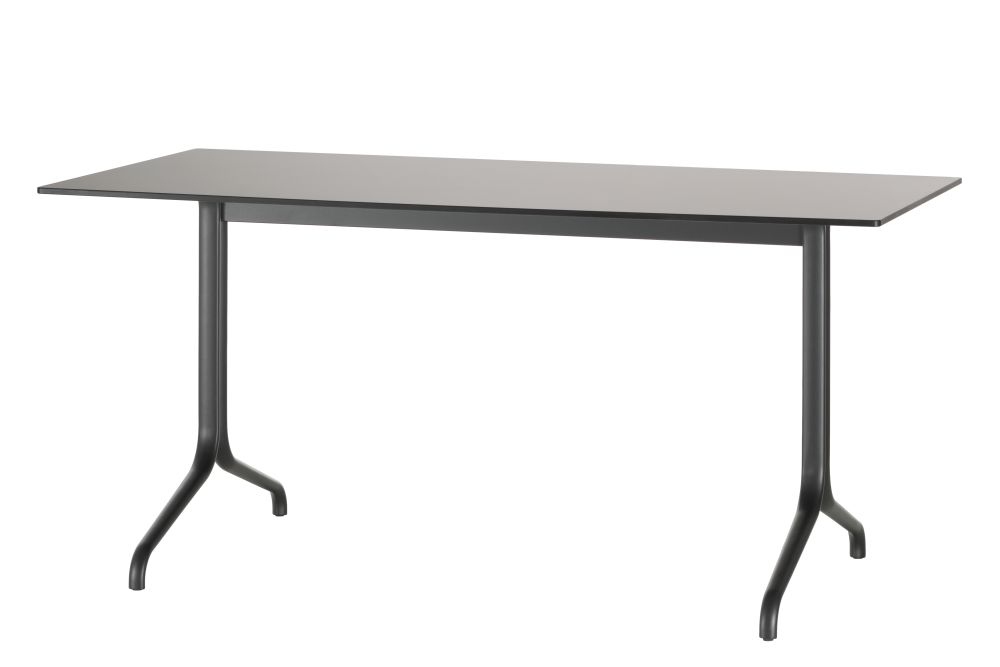 Solid core material white,Vitra,Outdoor Tables,desk,end table,furniture,outdoor table,rectangle,sofa tables,table,writing desk