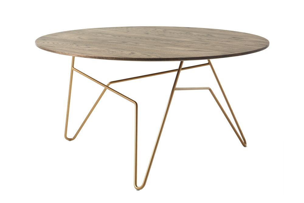 Powder Coated White, Diamond Black, 60d x 42h cm,Icons Of Denmark,Coffee & Side Tables,coffee table,end table,furniture,outdoor table,plywood,table