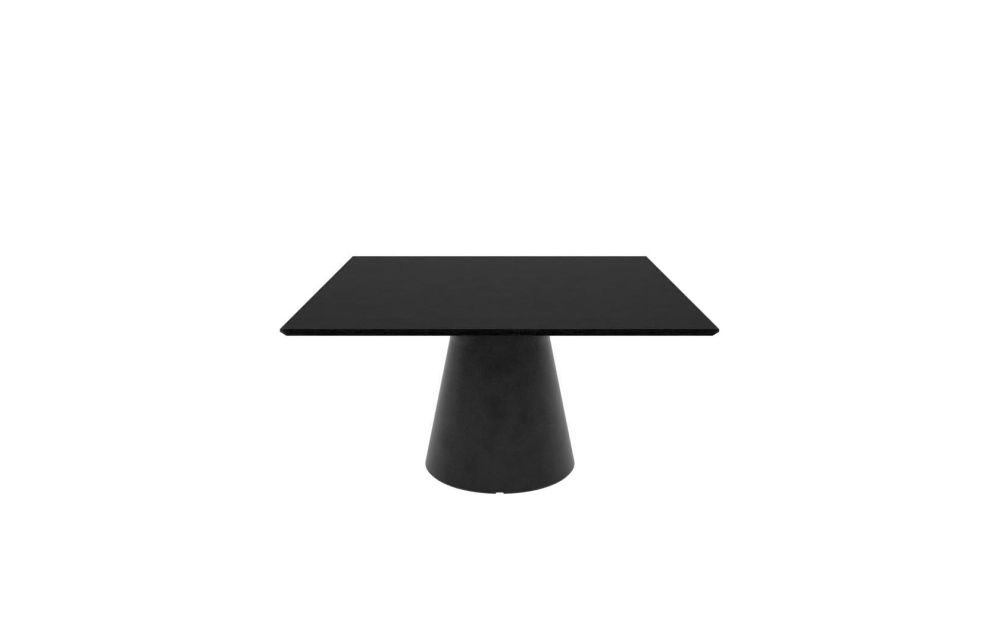 Polyethylene finish, Wood finish Oak, 140 x 140 x 74.5,Andreu World,Conferencing Tables,furniture,outdoor table,stool,table