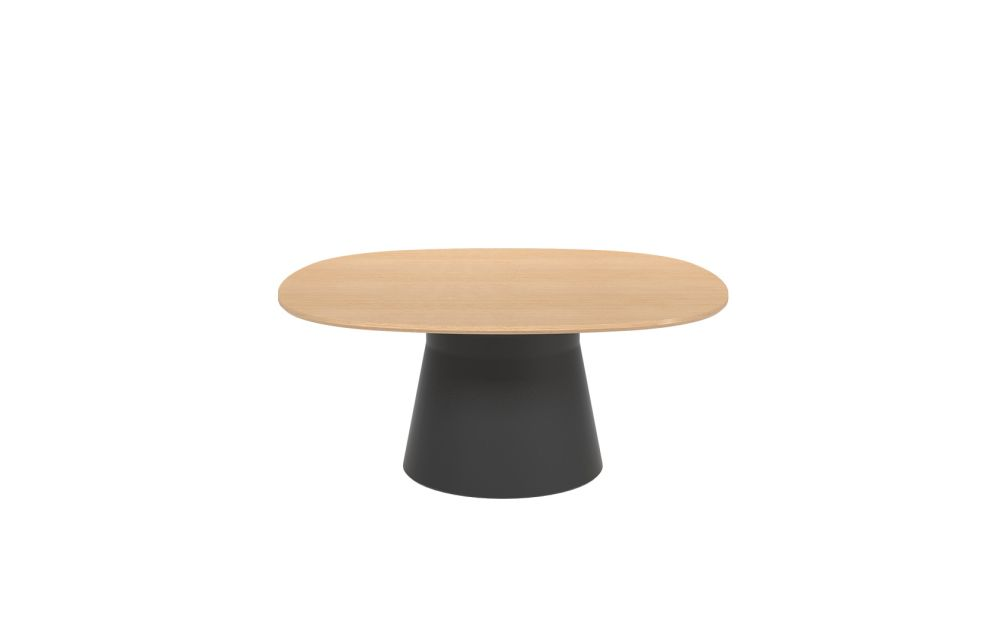 Polyethylene finish, Wood finish Oak, 140 x 140 x 74.5,Andreu World,Conferencing Tables,coffee table,furniture,stool,table