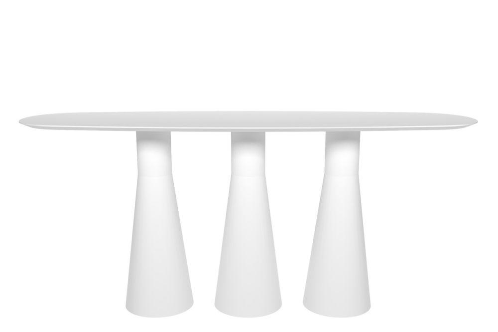 260 x 80, Wood finish Oak, Polyethylene finish,Andreu World,High Tables