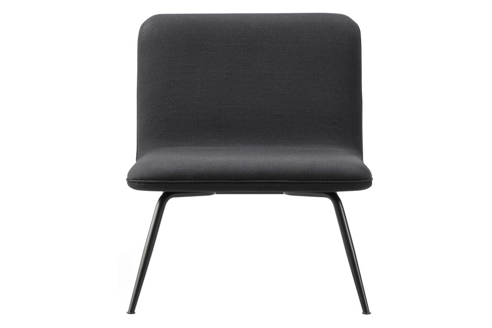 Black Painted, Fabrick Group 1,Fredericia,Lounge Chairs