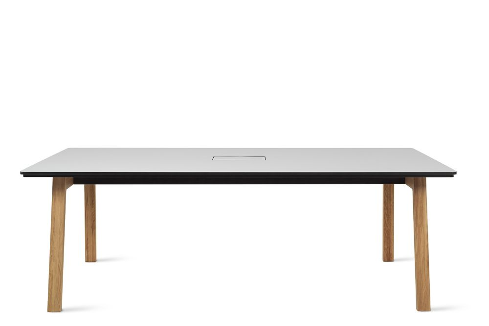 Alpino, Black Lacquered, 220w x 120d cm,Icons Of Denmark,Conferencing Tables