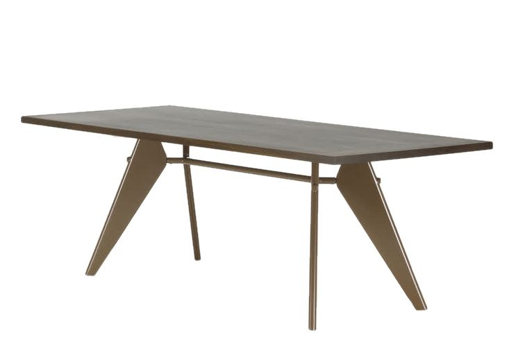 EM Wood Rectangular Table by Vitra
