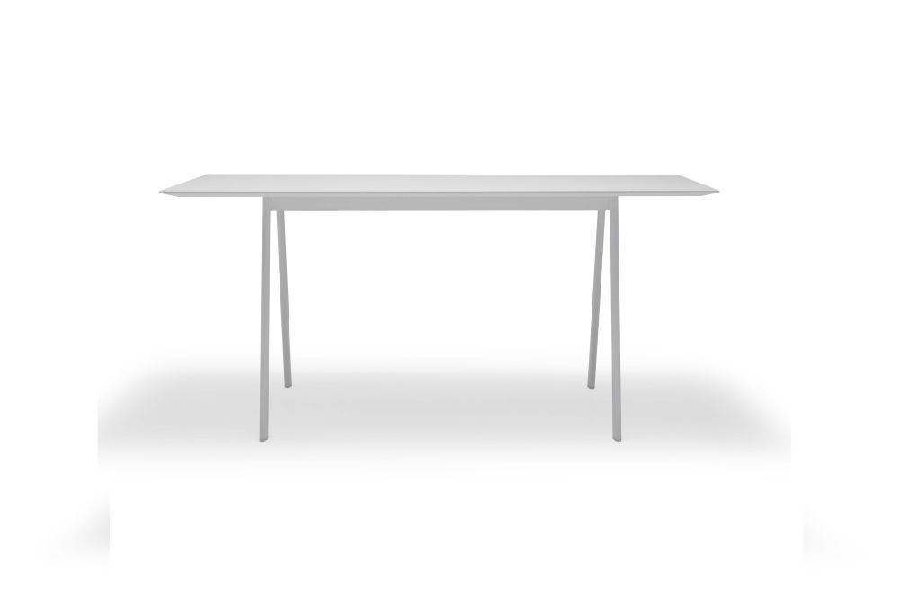Aluminium White, Wood finish Oak, 140 x 80 x90,Andreu World,Conferencing Tables