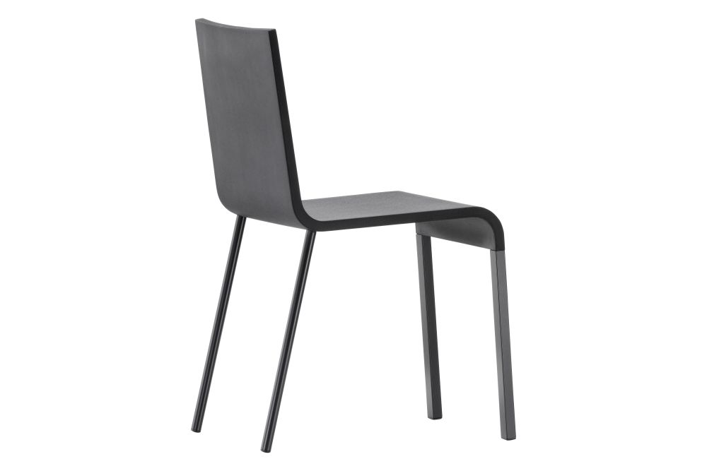 powder-coated silver, 01 Basic Dark, 05 Felt Glides for hardfloor,Vitra,Seating,chair,furniture